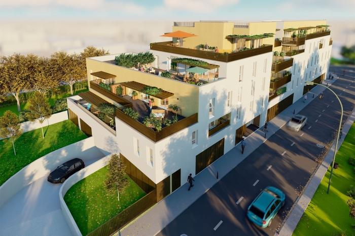 Appartements neufs Villenave-d'Ornon référence 4600 : aperçu n°3