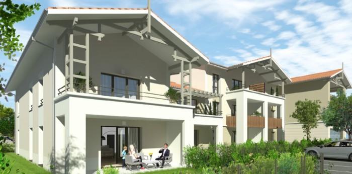 Appartements neufs Martignas-sur-Jalle référence 4678 : aperçu n°0