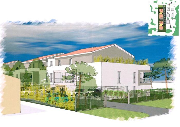 Appartements neufs Le Taillan-Médoc référence 4714 : aperçu n°2
