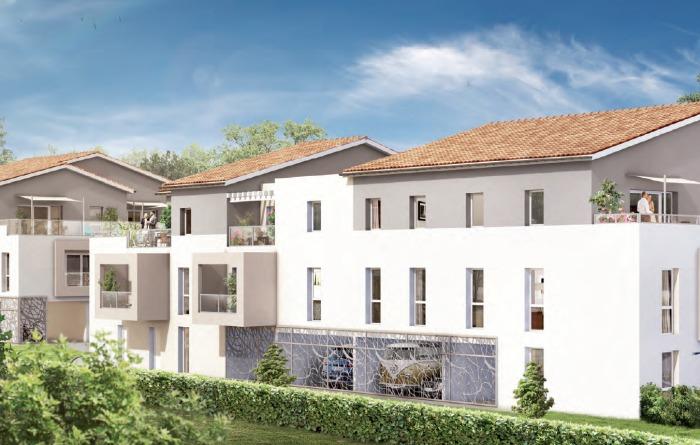 Appartements neufs Le Taillan-Médoc référence 4714 : aperçu n°0