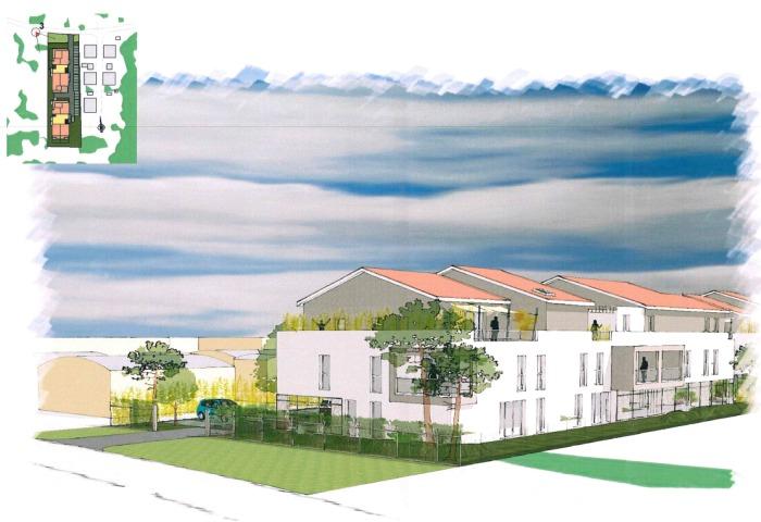 Appartements neufs Le Taillan-Médoc référence 4714 : aperçu n°3