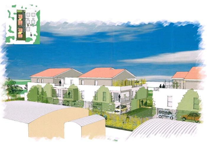Appartements neufs Le Taillan-Médoc référence 4714 : aperçu n°4