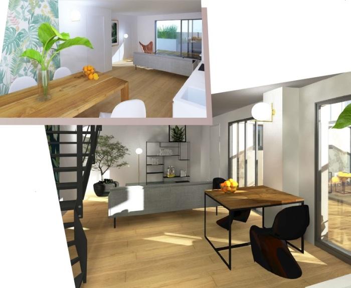 Appartements neufs St Seurin référence 4793 : aperçu n°4