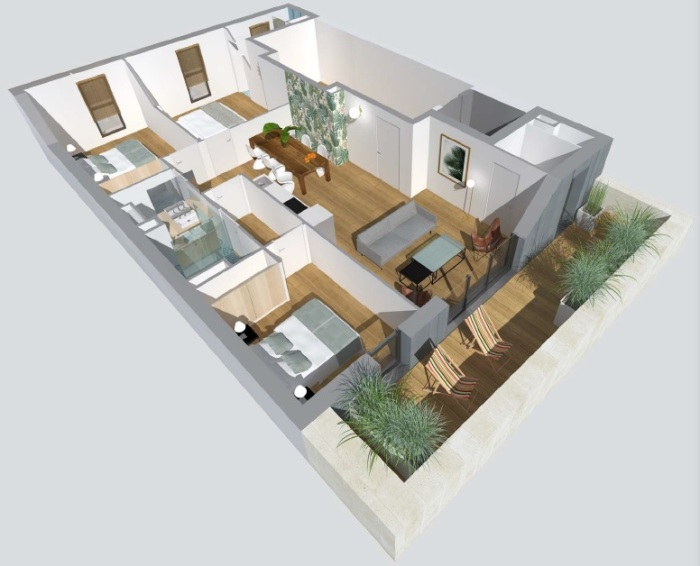 Appartements neufs St Seurin référence 4793 : aperçu n°2
