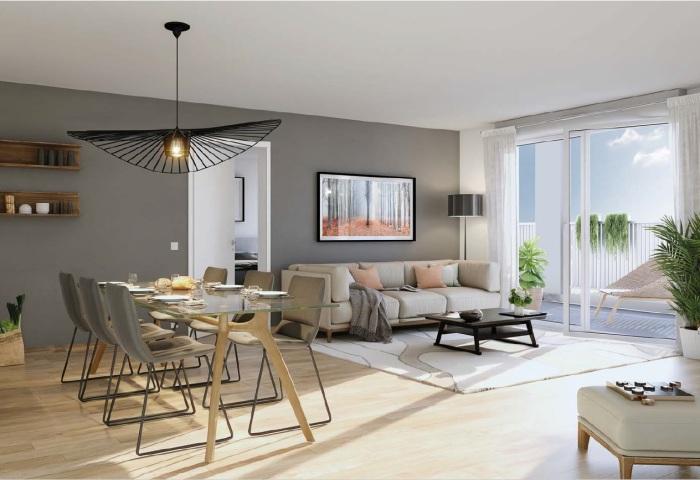 Appartements neufs Lormont référence 4808 : aperçu n°2