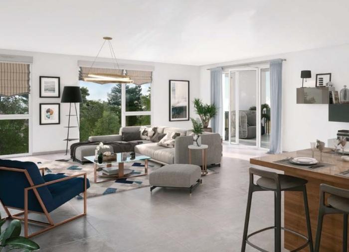 Appartements neufs Lormont référence 4808 : aperçu n°3