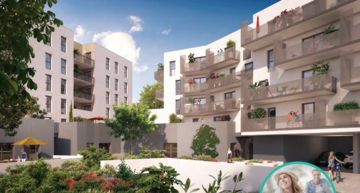 Appartements neufs Cenon référence 4823 : aperçu n°3