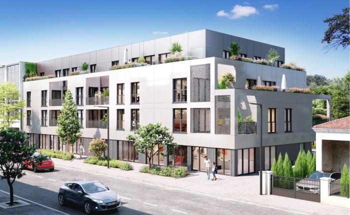 Appartements neufs Mérignac référence 4825 : aperçu n°2