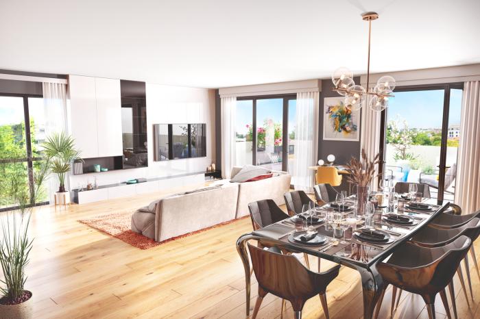 Appartements neufs Mérignac référence 4825 : aperçu n°1