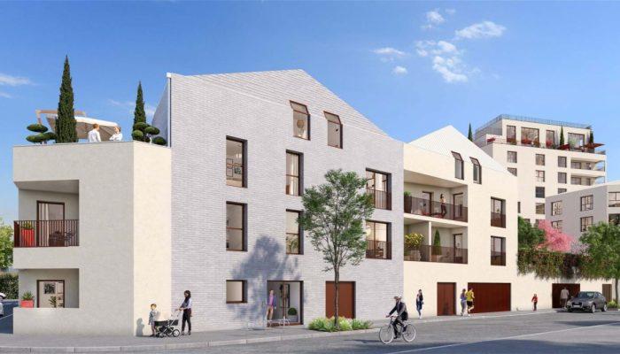 Appartements neufs Les Chartrons référence 4828 : aperçu n°2