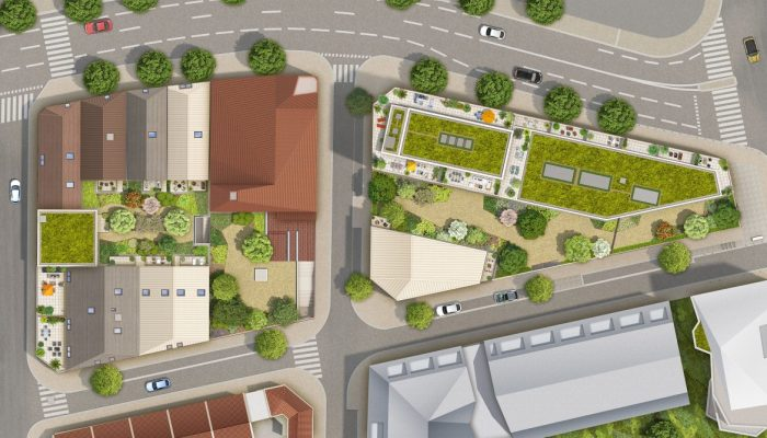Appartements neufs Les Chartrons référence 4828 : aperçu n°3