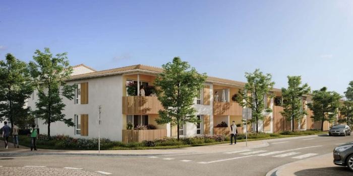 Appartements neufs La Brède référence 4842 : aperçu n°0