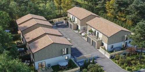 Maisons neuves Lanton référence 4855
