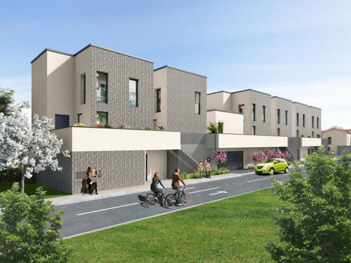 Maisons neuves et appartements neufs Pessac référence 4856 : aperçu n°0