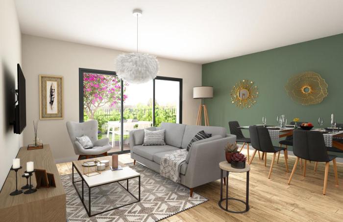 Maisons neuves et appartements neufs Pessac référence 4856 : aperçu n°1