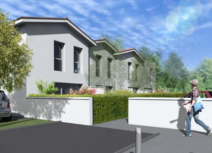 Maisons neuves Saint-Médard-en-Jalles référence 4991 : aperçu n°2