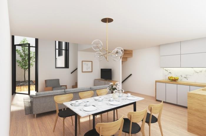 Appartements neufs Hotel de ville Quinconces référence 4972 : aperçu n°2