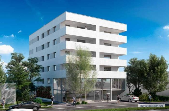 Appartements neufs Mérignac référence 5003 : aperçu n°1