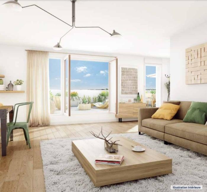Appartements neufs Mérignac référence 5003 : aperçu n°2