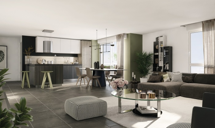 Appartements neufs Bastide référence 4879 : aperçu n°1