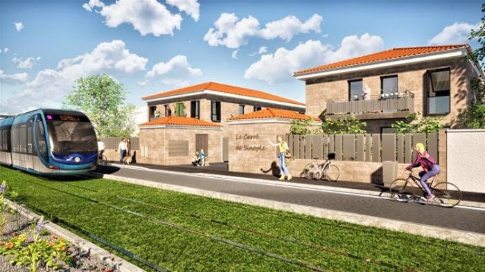 Maisons neuves et appartements neufs Le Bouscat référence 4899 : aperçu n°0