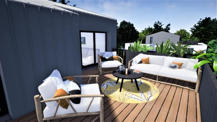 Maisons neuves et appartements neufs Le Bouscat référence 4899 : aperçu n°1