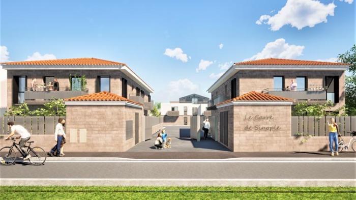 Maisons neuves et appartements neufs Le Bouscat référence 4899 : aperçu n°6