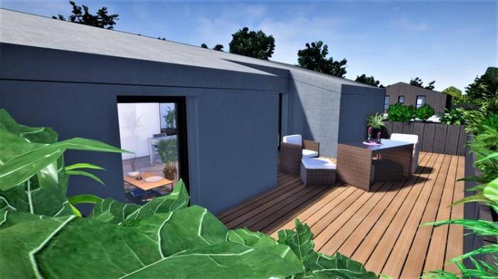 Maisons neuves et appartements neufs Le Bouscat référence 4899 : aperçu n°3