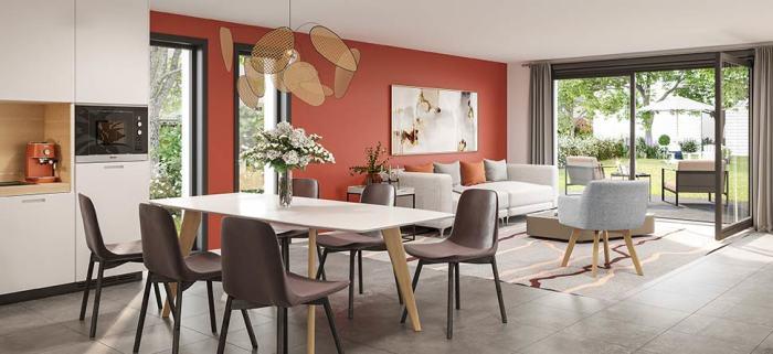 Maisons neuves et appartements neufs Bruges référence 4909 : aperçu n°1