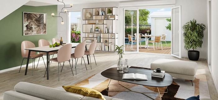Maisons neuves et appartements neufs Bruges référence 4909 : aperçu n°2