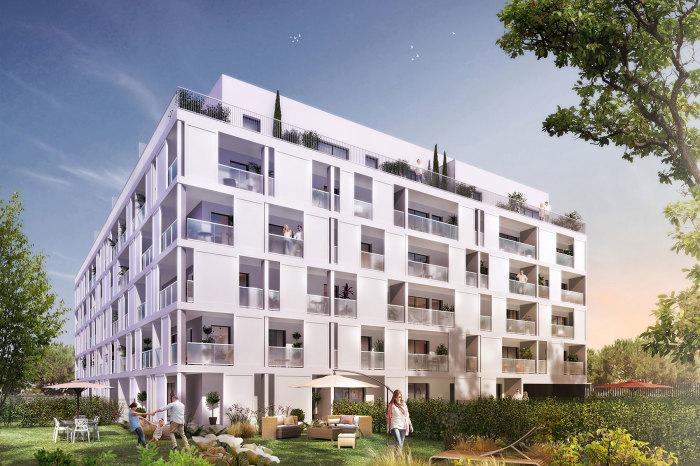 Appartements neufs Les Chartrons référence 4903 : aperçu n°0