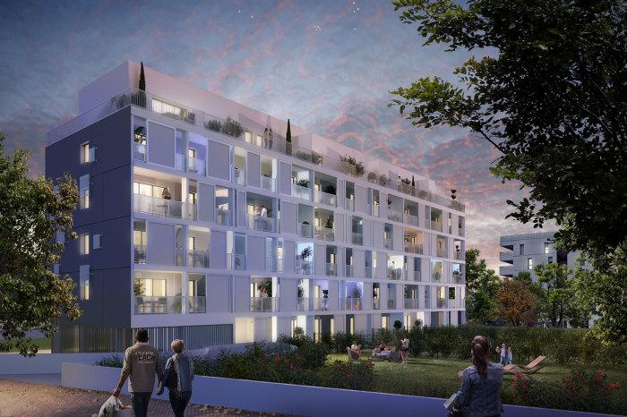 Appartements neufs Les Chartrons référence 4903 : aperçu n°2