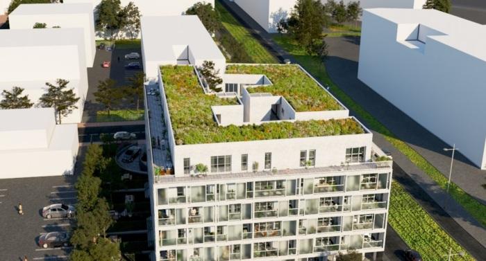 Appartements neufs Les Chartrons référence 4903 : aperçu n°3
