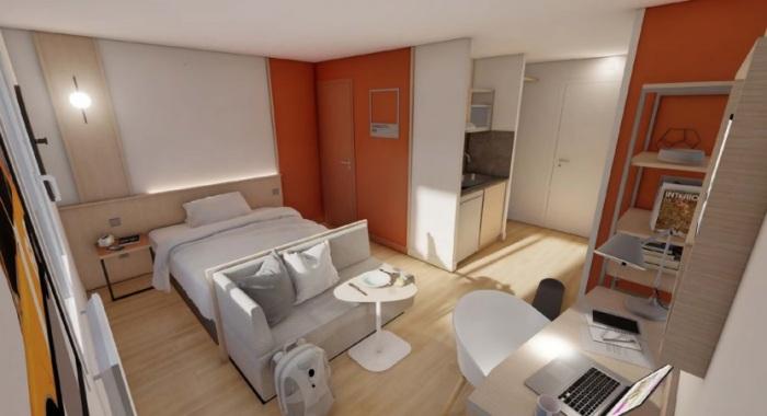 Appartements neufs Mérignac référence 5088 : aperçu n°1