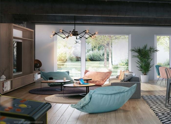 Appartements neufs Mérignac référence 5088 : aperçu n°2