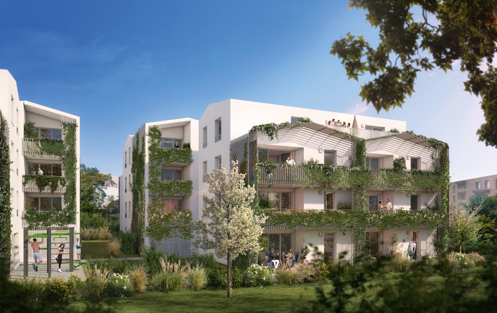 Appartements neufs Villenave-d'Ornon référence 5090 : aperçu n°4