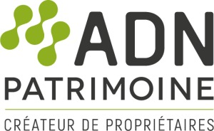 Logo du promoteur immobilier ADN Patrimoine