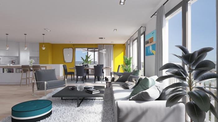 Appartements neufs Caudéran référence 5092 : aperçu n°2