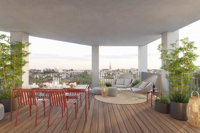 Appartements neufs Caudéran référence 5092 : aperçu n°4