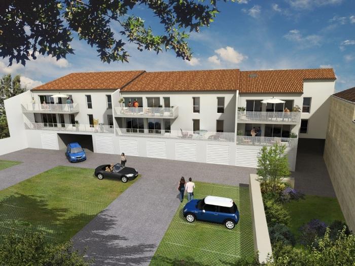Appartements neufs Le Taillan-Médoc référence 5147 : aperçu n°0