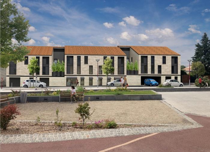 Appartements neufs Le Taillan-Médoc référence 5147 : aperçu n°2
