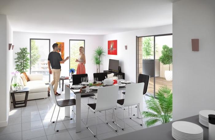 Appartements neufs Le Taillan-Médoc référence 5147 : aperçu n°1