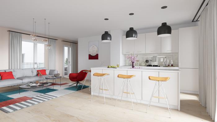 Maisons neuves et appartements neufs St Bruno référence 5152 : aperçu n°1