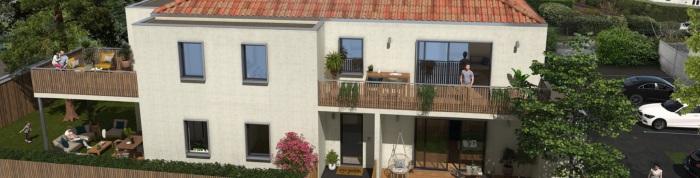 Appartements neufs Mérignac référence 5155 : aperçu n°3