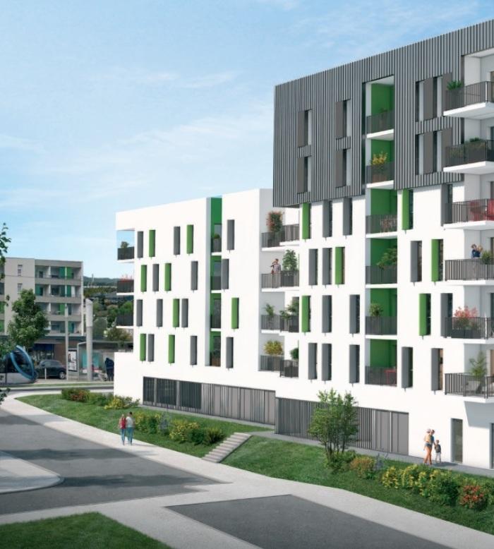 Appartements neufs Lormont référence 5224 : aperçu n°3
