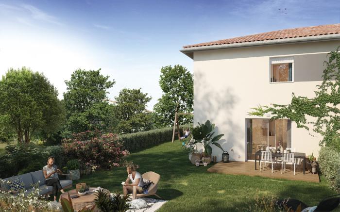 Maisons neuves Sainte-Eulalie référence 5169 : aperçu n°1
