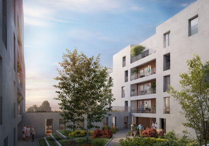 Appartements neufs Bastide référence 5207 : aperçu n°0