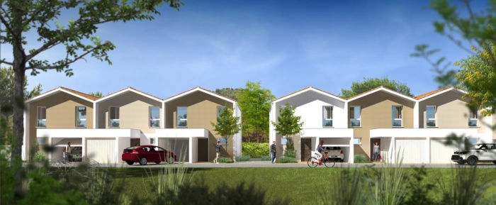 Maisons neuves Eysines référence 5245 : aperçu n°0