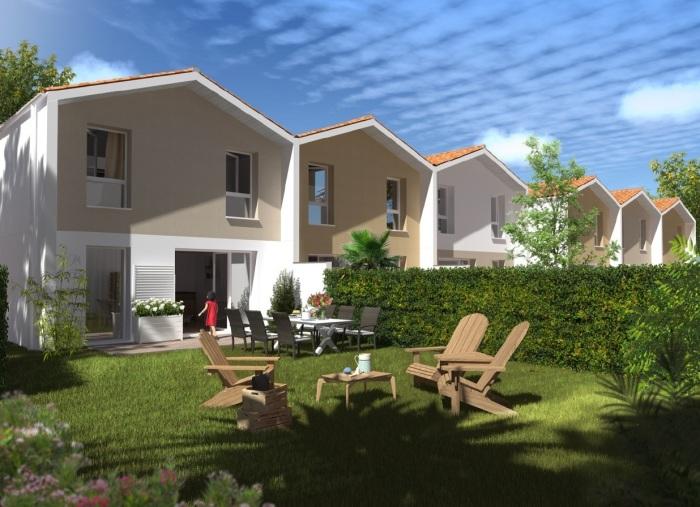 Maisons neuves Eysines référence 5245 : aperçu n°3