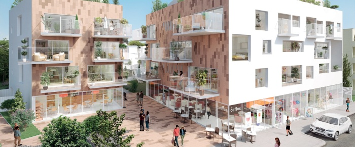 Appartements neufs Mérignac référence 5302 : aperçu n°0